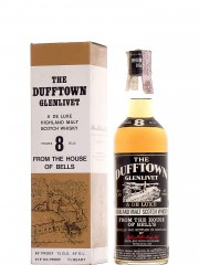 Dufftown Glenlivet 8 Year Old Bottled 1970'S
