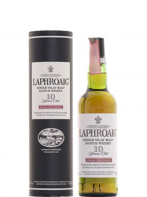 Laphroaig 10 Year Old Original Cask Strength 57.3%