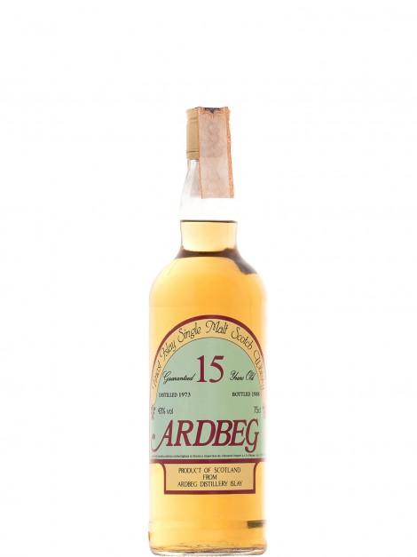 Ardbeg 1973 15 Year Old Bottled 1988