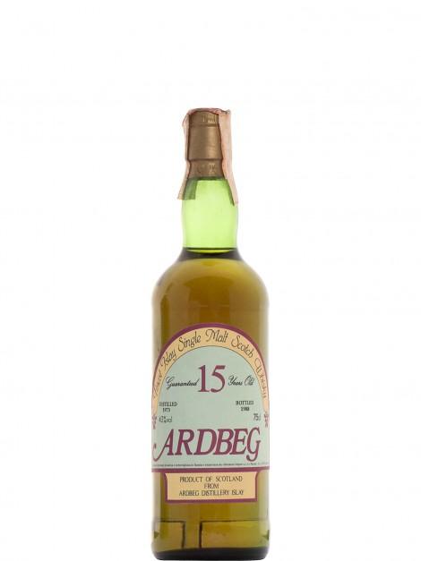 Ardbeg 1973 15 Y.O. Bottled 1988