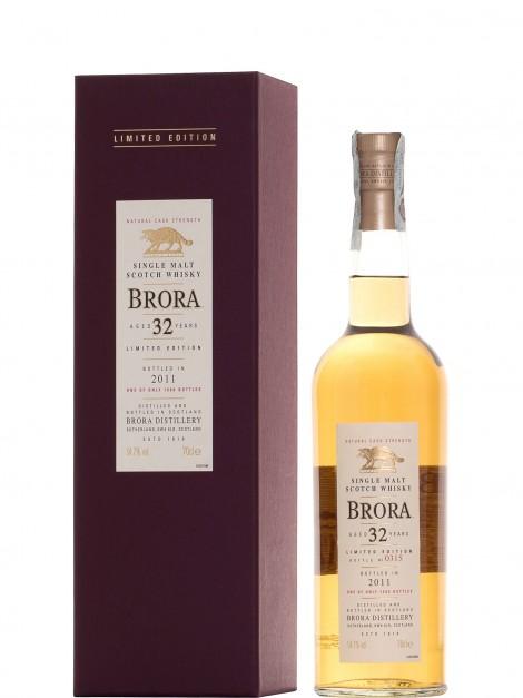 Brora 32 Year Old Bottled 2011