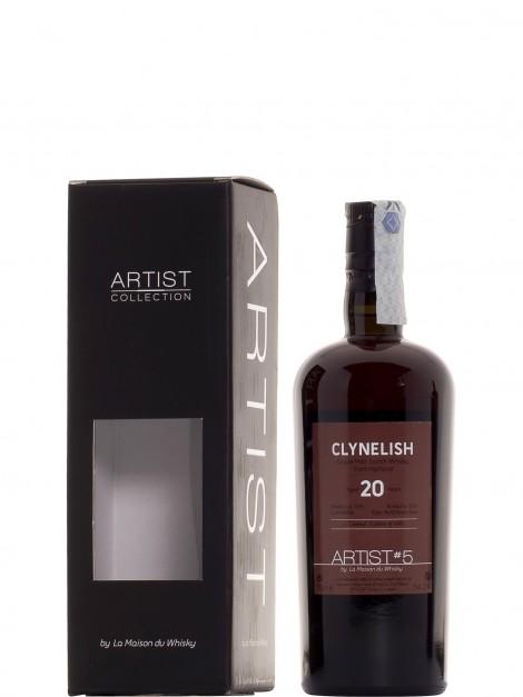 Clynelish 1995 20 Y.O. Single Cask Artist N. 5