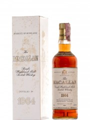 The Macallan 1964 Sherry Wood - Bottled 1982
