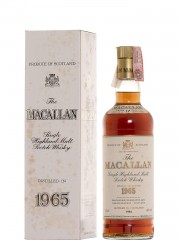 The Macallan 1965 17 Y.O. Sherry Wood - Bottled 1984