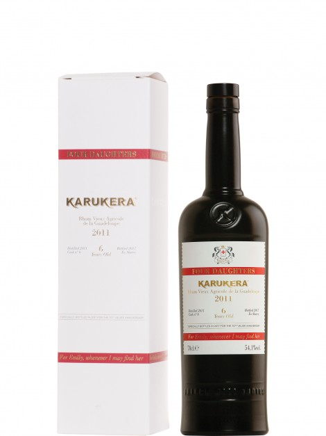 Karukera 2011 Sherry Cask 70Th Velier Anniversary Rum