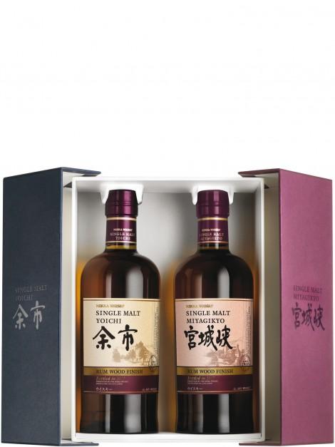 Nikka Yoichi & Miyagikyo Rum Cask Finish 70th Velier Anniversary