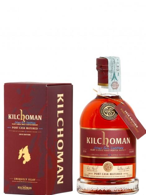 Kilchoman Port Cask Matured Release 2018