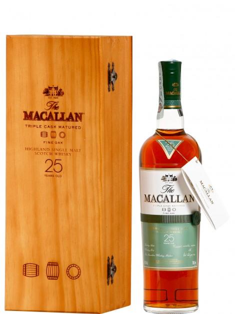 The Macallan 25 Year Old Fine Oak