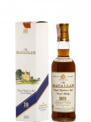 The Macallan 1979 18 Year Old Sherry Wood