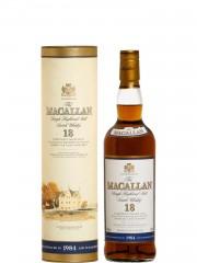 The Macallan 18 Year Old 1984 Sherry Oak