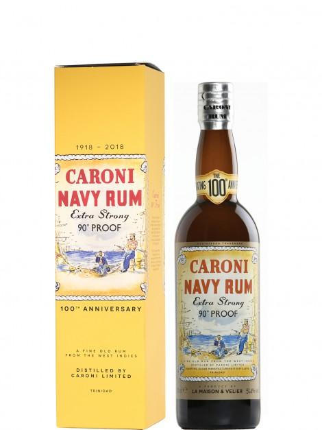 Caroni Navy 90° Proof Rum