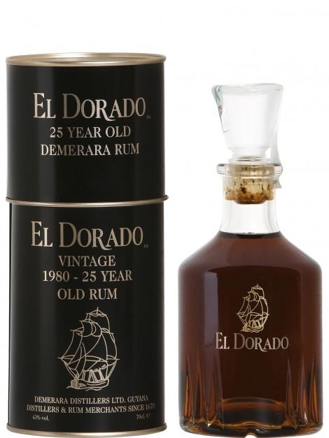 El Dorado 1980 25 Year Old Rum