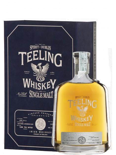 Teeling 24 Years Old Irish Whiskey