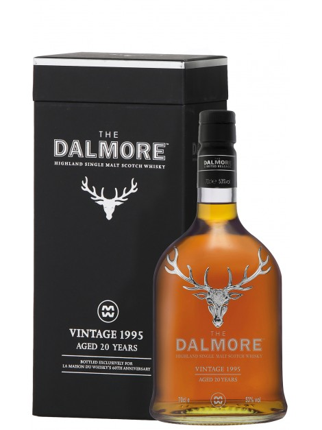 The Dalmore 1995 20 Years Old Sauternes Wine Cask - 60th Anniversary LMDW