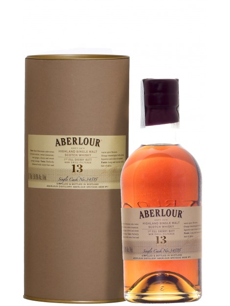 Aberlour 13 Years Old First Fill Sherry Butt LMDW Cellar Book