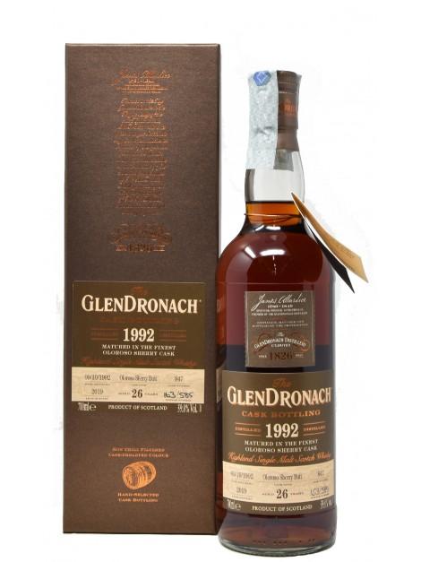 Glendronach 26 Y.O. 1992 Single Cask 847
