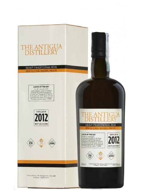 Antigua Distillery 2012 Single Cask 2598 Heavy Rum