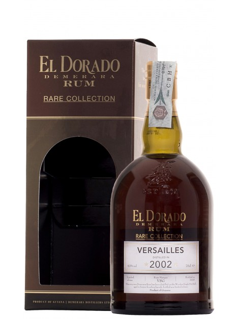 El Dorado Versailles 2002 Rare Collection Rum