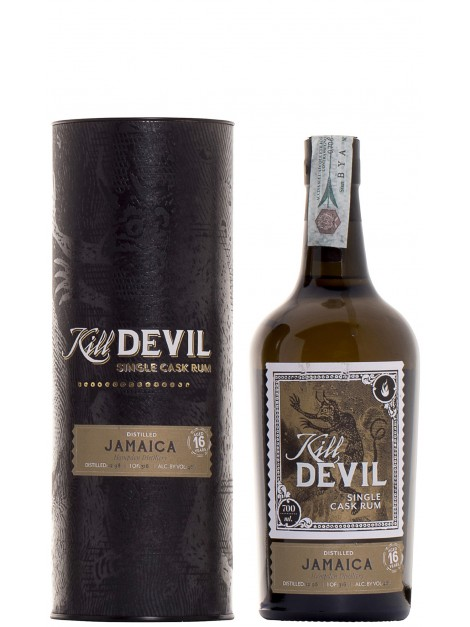 Hampden 1998 16 Y.O. Single Cask Rum Kill Devil
