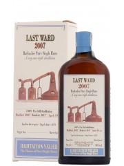 Last Ward 2007 Habitation Velier Rum