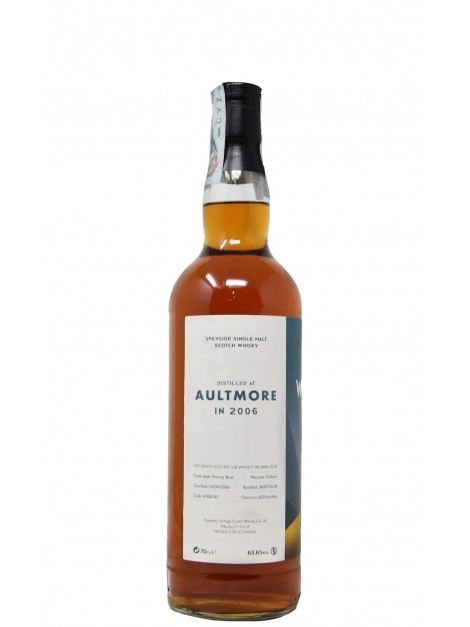 Aultmore 2006 12 Years Old Sherry Butt