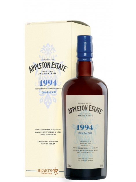 Appleton Estate 1994 Hearts Collection