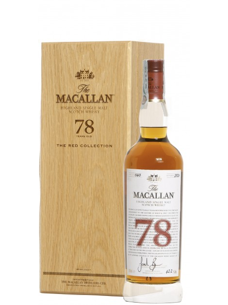 The Macallan 78 Years Old Red Collection