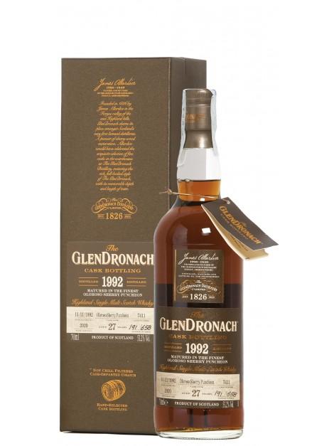 Glendronach 1992 No. 7411 Batch 18 Oloroso Puncheon