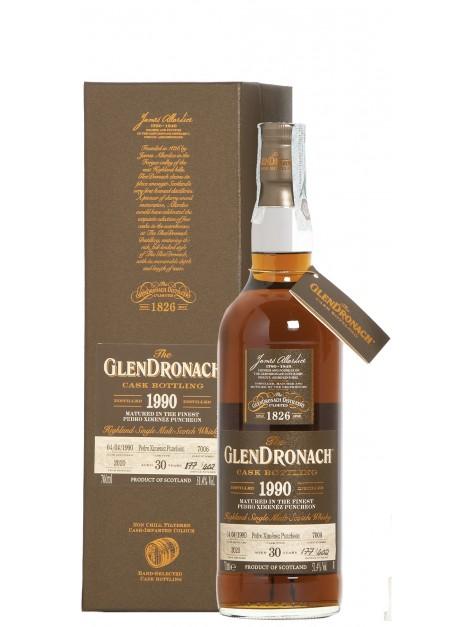 Glendronach 1990 No. 7006 Batch 18 Px Puncheon