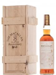 The Macallan 25 Year Old Anniversary Malt
