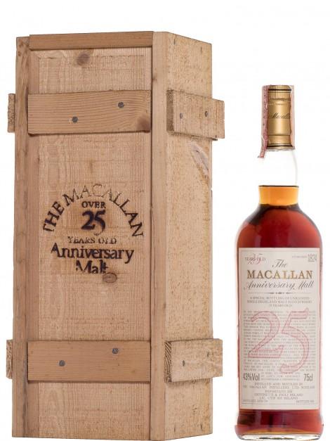 The Macallan 25 Year Old 1958/59 Anniversary Malt