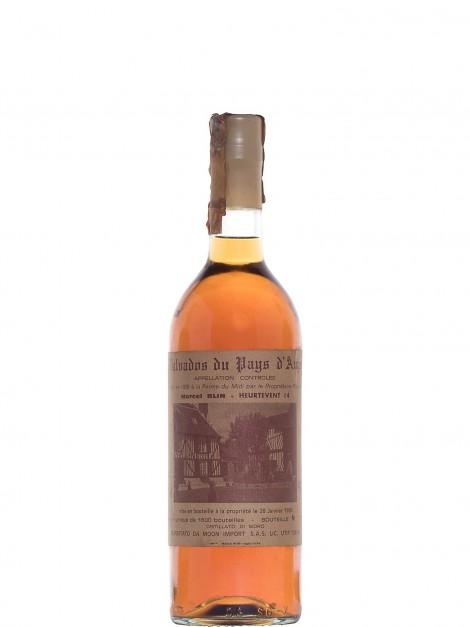 Calvados Marcel Blin 1938 Bottled 1984