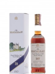 The Macallan 1967 18 Year Old Sherry Wood