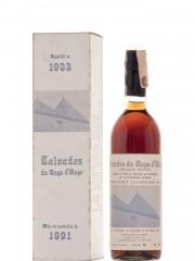 Calvados Adrien Camut 1933 Bottled 1991