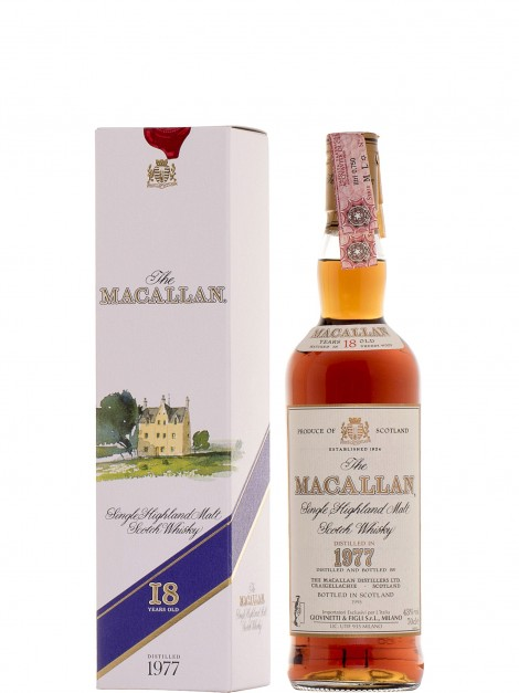 The Macallan 1977 18 Year Old Sherry Wood