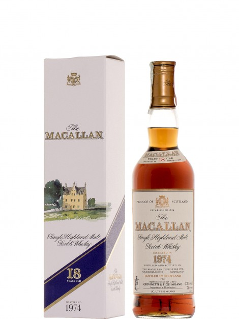 The Macallan 1974 18 Year Old Sherry Wood